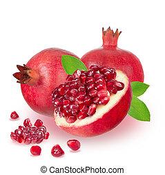 reif, granatapfel