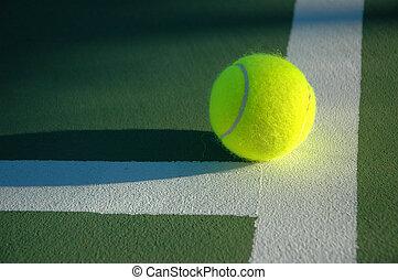 reihe, tennis, 5