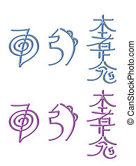 Reiki Healing Energy Symbols