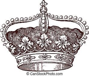 reina, corona