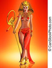 reina, faraón