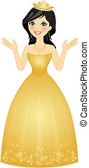 reina, ilustración
