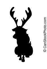 Reindeer Animal Shape