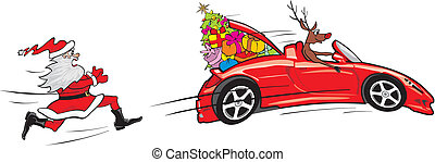 reindeer escapes convertible