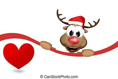 Reindeer Heart