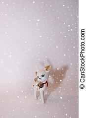 reindeer in the snow 2