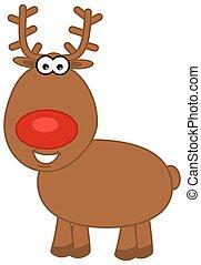 reindeer profile