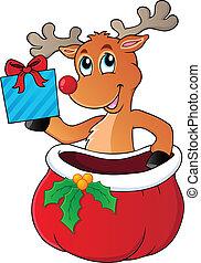 Reindeer theme image 6