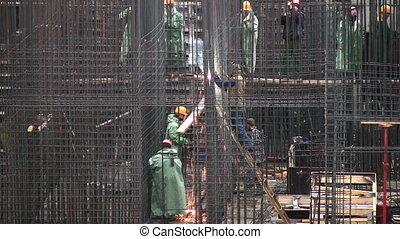 reinforcement construction - Reinforcement construction.