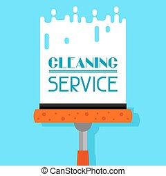 reinigingsmachine, venster, huishouding, achtergrond