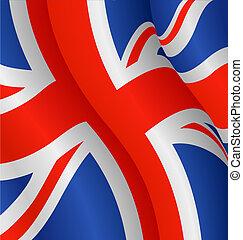 reino, bandeira, unidas