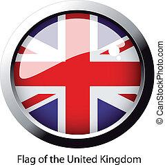 reino, bandeira, unidas, vetorial