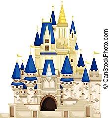 reino, castelo