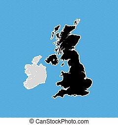 reino, mapa, brexit, unidas