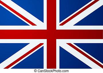 reino unido, (british), bandera