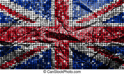 reino unido, flag.