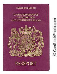 reino unido, passaporte