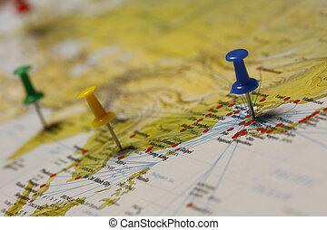 reis bestemming