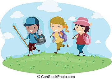 reise, camping