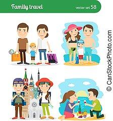 reise, familie, leute