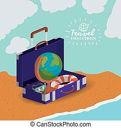 reise, urlaube, design