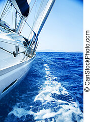 reise, yacht., luxus