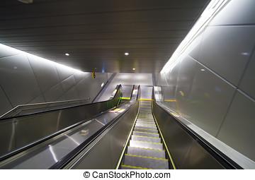 reisekoffer, modern, stufe