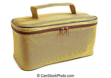 reisekoffer, stoff