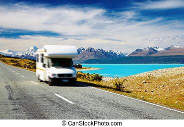 reisen, reisemobile