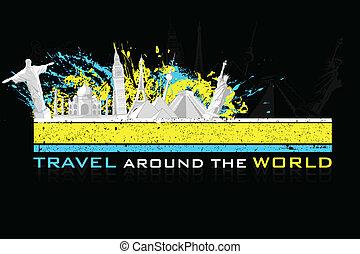 reizen, achtergrond