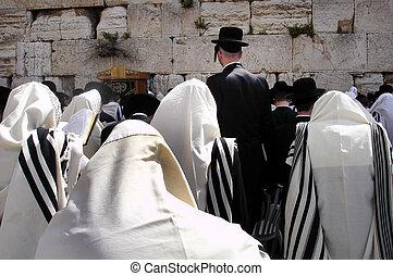 reizen, muur, israël, -, foto's, jeruzalem, westelijk