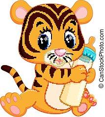 reizend, baby, tiger