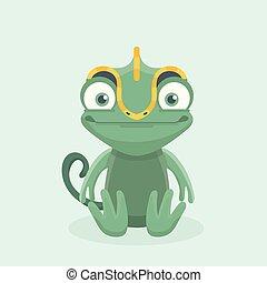 reizend, chameleon.