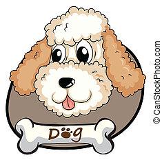 reizend, kopf, hund