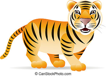 reizend, tiger