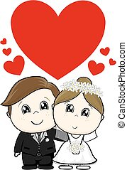 reizend, wedding, charaktere