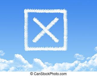 rejected cloud shape