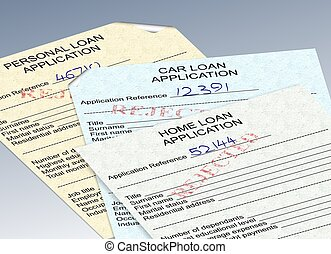 rejected loan applications