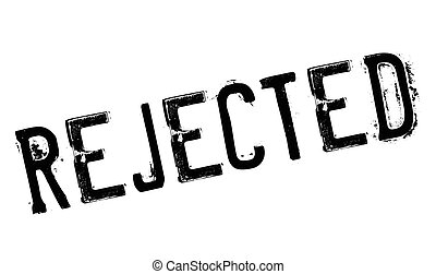 Rejected stamp rubber grunge