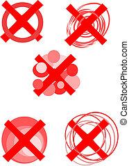 Rejected symbols - vector