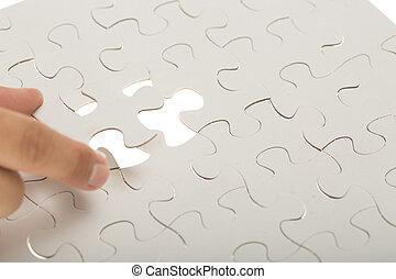 rejtvény, jigsaw munkadarab