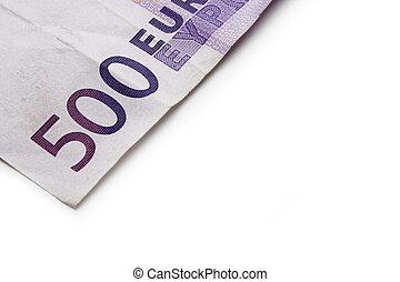 rekening, 500, eurobiljet