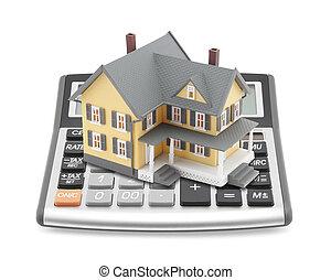 rekenmachine, hypotheek