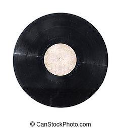 rekord, winyl, odizolowany
