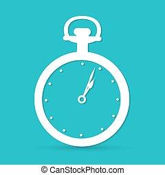 relógio, ícone
