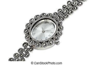 relógio, luxo, femininas
