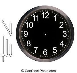relógio, parede