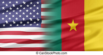Relations between two countries. USA and Cameroon