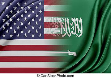 USA and Saudi Arabia. - Relations between two countries. USA...