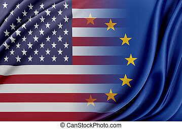 USA and Europa. - Relations between USA and Europa.